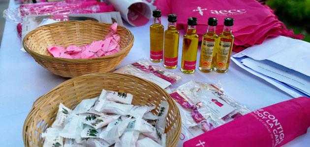 El AOVE de Mágina, solidario con la lucha contra el cáncer de mama