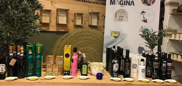 Los AOVEs de Mágina se promocionan en las Casas del Aceite de Úbeda y Baeza
