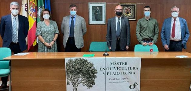 Comienza el XIV Máster en Olivicultura y Elaiotecnia
