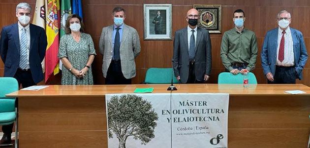 Córdoba acogerá en septiembre el XII Máster en Olivicultura y Elaiotecnia