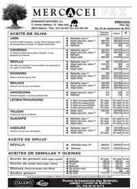Suscripción Mercacei Fax (Sólo para suscriptores)