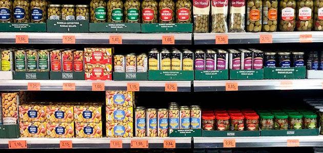 Mercadona incrementa un 45% las ventas de aceitunas por los cambios de hábitos del consumidor
