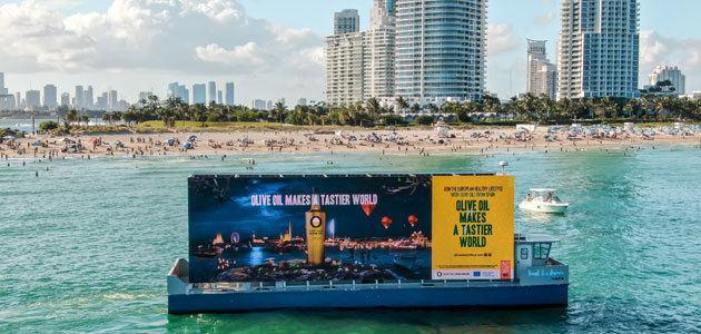 Olive Oil World Tour se despide esta Navidad con acciones en Madrid, Nueva York, Tokio o Miami