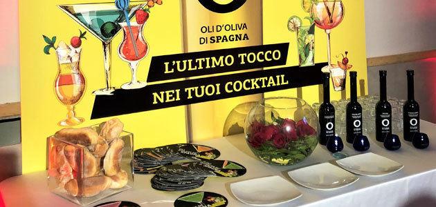 Aceites de Oliva de España lleva hasta el corazón de Italia los innovadores cócteles con virgen extra