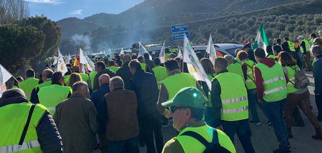 El sector agrario de Jaén retoma las protestas y se movilizará el 29 de abril