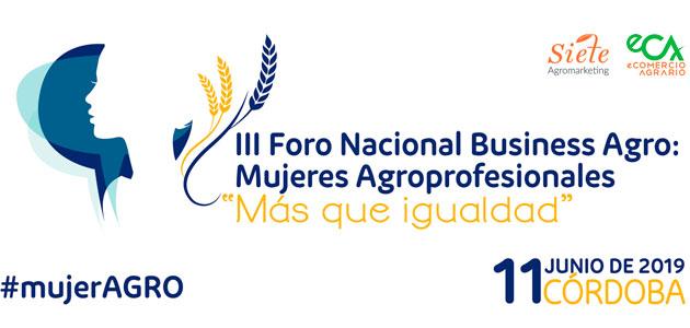 El papel de la mujer en el sector oleícola en el III Foro Nacional Business Agro-Mujeres Agroprofesionales