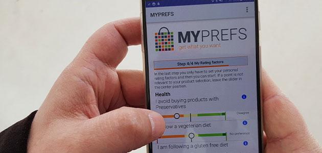 Una aplicación permite elegir el AOVE más afín a las preferencias del consumidor en el lineal