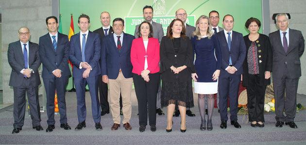 Altos cargos y delegados territoriales de la Consejería de Agricultura de Andalucía