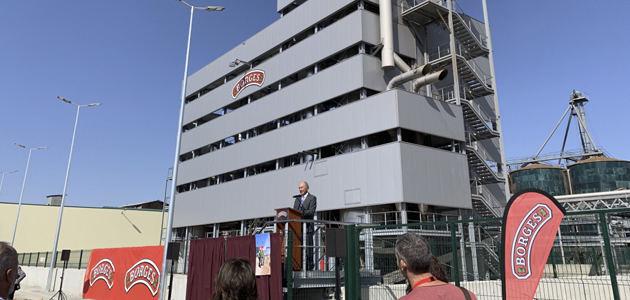 Borges inaugura en Tárrega la nueva planta extractora de aceites de semillas