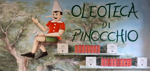 L'Oleoteca di Pinocchio y cómo acercar el AOVE a los más pequeños