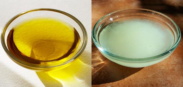 Aceite de oliva vs aceite de coco