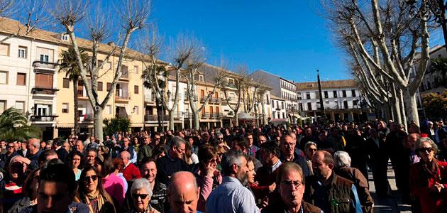 Los 97 municipios de la provincia de Jaén defienden en la calle su olivar