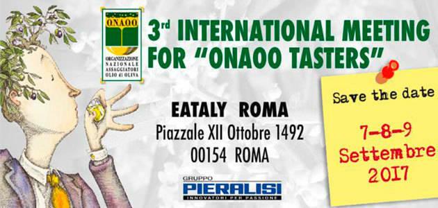 La ONAOO celebrará en Roma su tercer encuentro internacional para catadores