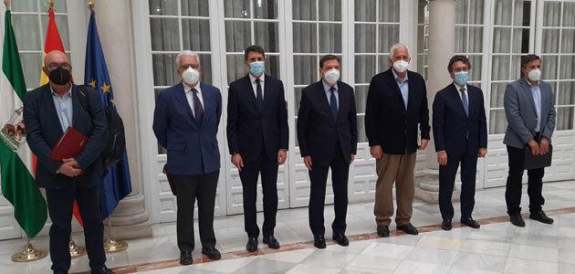 El sector agrario andaluz mantiene sus movilizaciones en contra de la convergencia