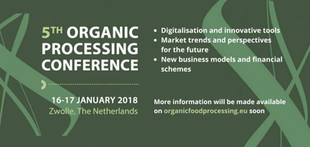La V Conferencia de Elaboración Ecológica Europea analizará tendencias tecnológicas para la producción eco