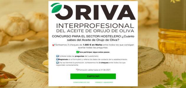 Oriva y Hostelería de España promocionan el aceite de orujo de oliva en las cocinas profesionales