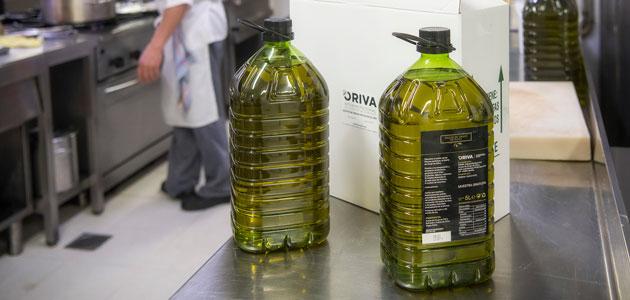 El sector orujero moviliza 190.000 litros de aceite de orujo de oliva para el canal Horeca