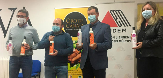 Oro de Cánava recaudará fondos para la Asociación Jiennense de Esclerosis Múltiple