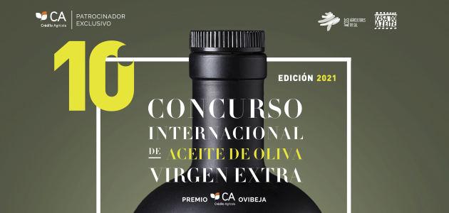 El Concurso Internacional de Aceite de Oliva Virgen Extra-Premio CA|Ovibeja prepara su décima edición
