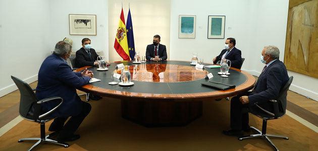 Pedro Sánchez analiza con el sector agrario las oportunidades de la nueva PAC