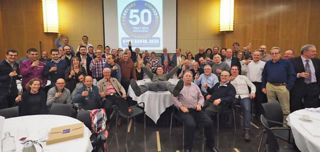 Los trabajadores de la fábrica de Zaragoza de Pieralisi celebran el 50º aniversario de la empresa en España