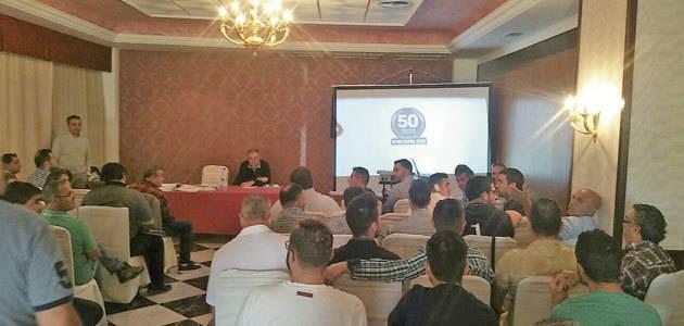 Pieralisi organiza una jornada técnica para sus mecánicos