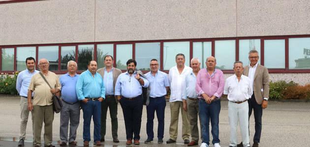 La Cooperativa Agrícola San Isidro de Palenciana (Córdoba) visita Pieralisi Italia