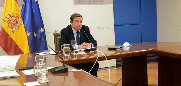 Planas destaca que los agricultores españoles podrán beneficiarse de una reducción del 20% en los módulos del IRPF 2020