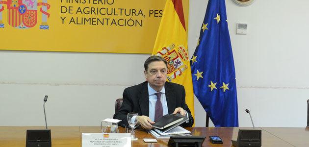 Planas pide a la CE intensificar las medidas de mercado para hacer frente a la crisis del COVID-19