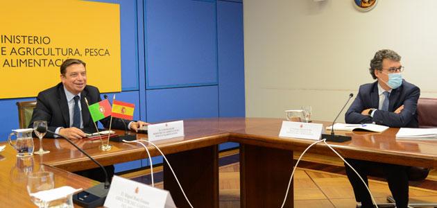 España y Portugal crearán un grupo de trabajo sobre los planes estratégicos de la PAC y reforzarán su colaboración sobre sanidad vegetal