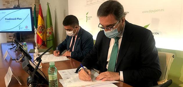 La Diputación de Jaén y la UJA renuevan el convenio para continuar con el proyecto Predimed-Plus