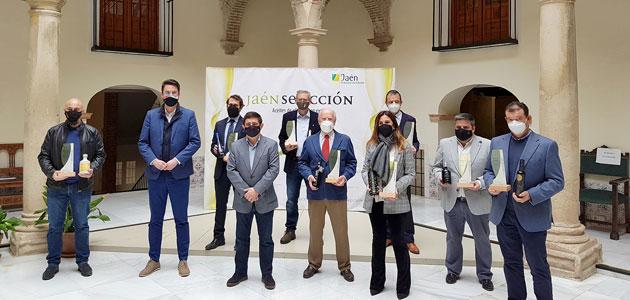 La Diputación de Jaén entrega los distintivos 'Jaén Selección 2021'