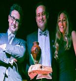 Juan Vilar, Premio Ñ Organic en la II Gala Jaén Solidaria
