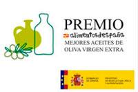 Premio Alimentos de España al Mejor Aceite de Oliva Virgen Extra