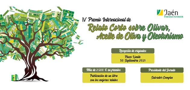 Abierta la convocatoria del IV Premio Internacional de Relato Corto sobre Olivar