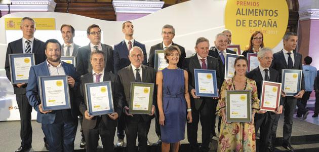 Venchipa recibe el Premio Especial Alimentos de España al Mejor AOVE de la campaña 2016/17