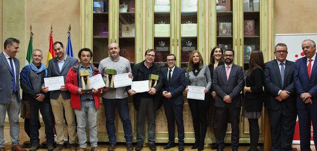 La Diputación de Badajoz entrega los premios de la II Cata-Concurso de AOVEs de la provincia