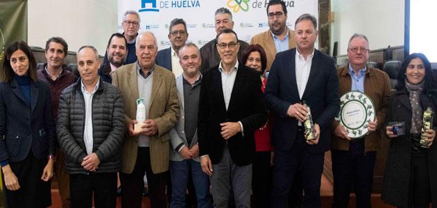 La Cooperativa San Bartolomé de Paterna del Campo gana el VI Premio Diputación de Huelva al Mejor AOVE
