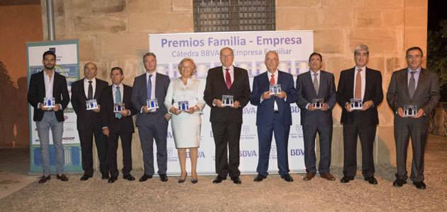 Aceites Maeva recibe el Premio Familia-Empresa