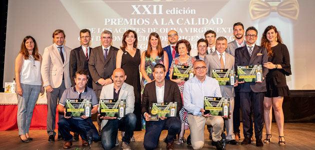La DOP Priego de Córdoba reconoce la labor y calidad de sus AOVEs