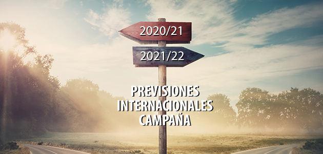 Previsiones iniciales de campaña en los principales países productores