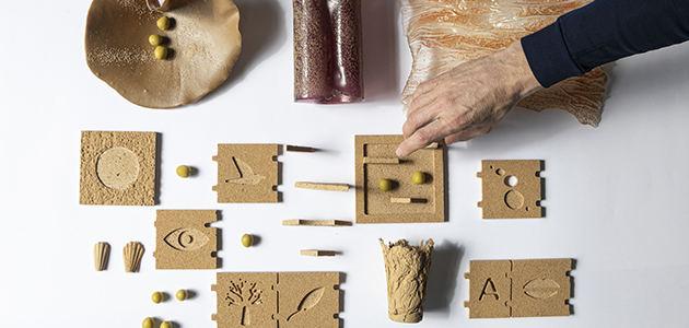 Re Olivar, una nueva vida para los huesos de aceituna a través de juguetes y muebles