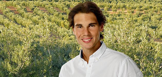 Rafa Nadal: 'Ya sea en Shanghai o en España, allí donde esté, siempre busco aceitunas o aceite de oliva virgen extra'