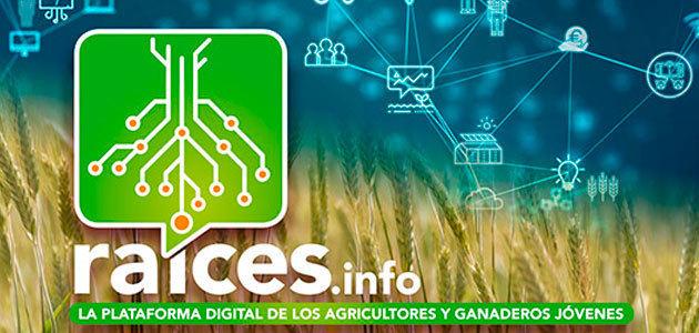 Raíces, una plataforma digital colaborativa del sector agrario
