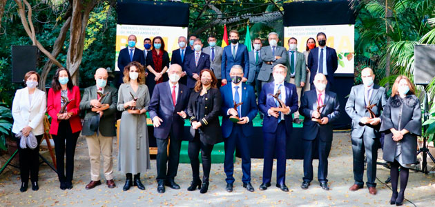 """Feragua recibe el Premio Andalucía de Medio Ambiente por su proyecto """"Reutivar"""""""