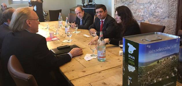 La Diputación de Jaén aborda nuevas colaboraciones para promocionar el AOVE entre los cocineros estadounidenses