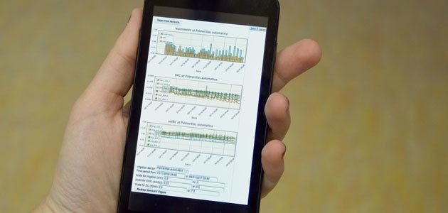El IRTA evalúa su plataforma web para automatizar la planificación de las campañas de riego