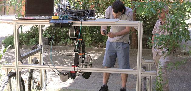 Robotización del cultivo en hileras para la agricultura ecológica
