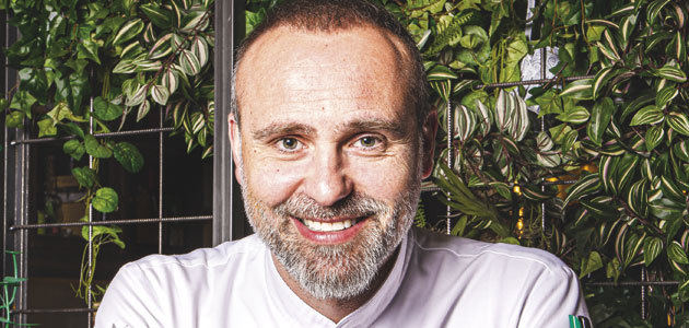 Rodrigo de la Calle, el chef verde: