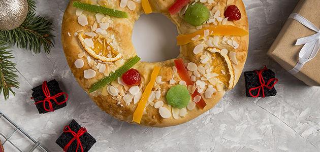 Roscón elaborado con AOVE, una deliciosa propuesta para celebrar el Día de Reyes